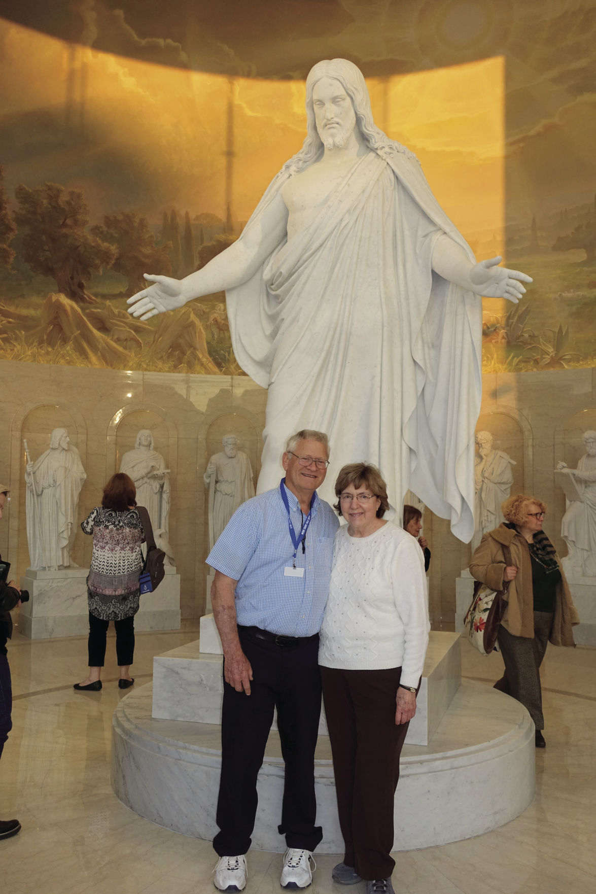 Lodi couple travels to Italy for temple dedication