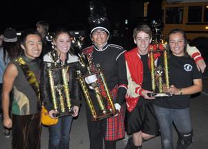 Lodi Honor Band brings home three trophies