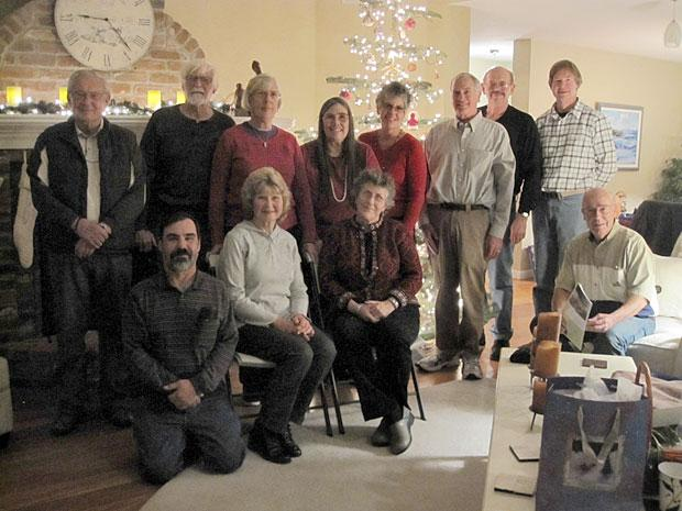 Lodi Lake nature area docents celebrate Christmas