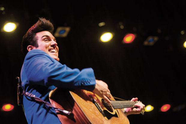 Scot Bruce's Elvis is old-school cool