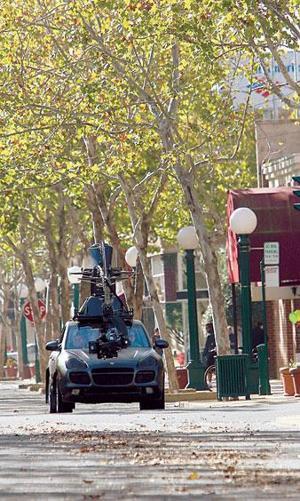 Hush-hush commercial shot in Downtown Lodi