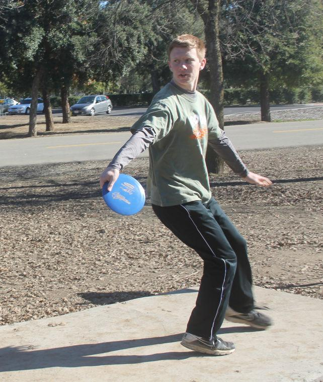 Tokay High School student Michael Roush Jr. creates disc golf course as Eagle Scout project