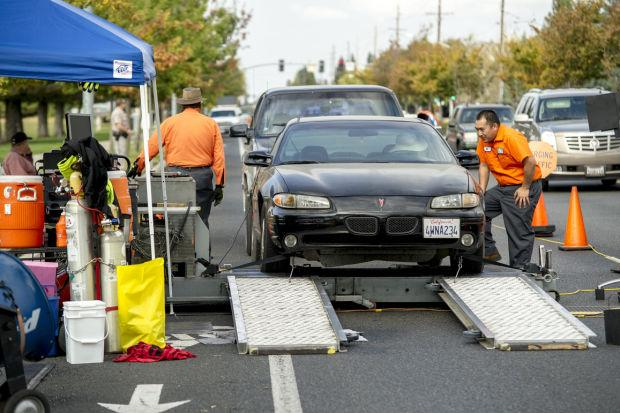 Vehicles randomly chosen for emissions testing in Lodi