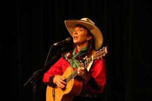 Juni Fisher brings songs, stories to Angels Camp