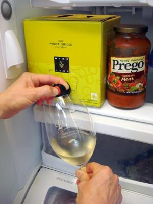 Target's Wine Cube in Action