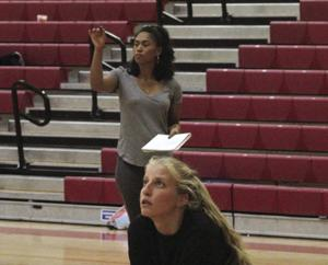 High school volleyball: Vaughns has new role with Flames