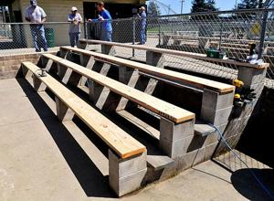 Aluminum benches stolen from Salas Park in Lodi