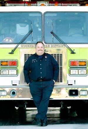 Capt. Steve Butler is Woodbridge firefighter of year