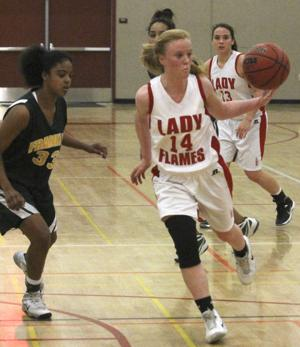 Girls basketball: Flames torch Yellowjackets