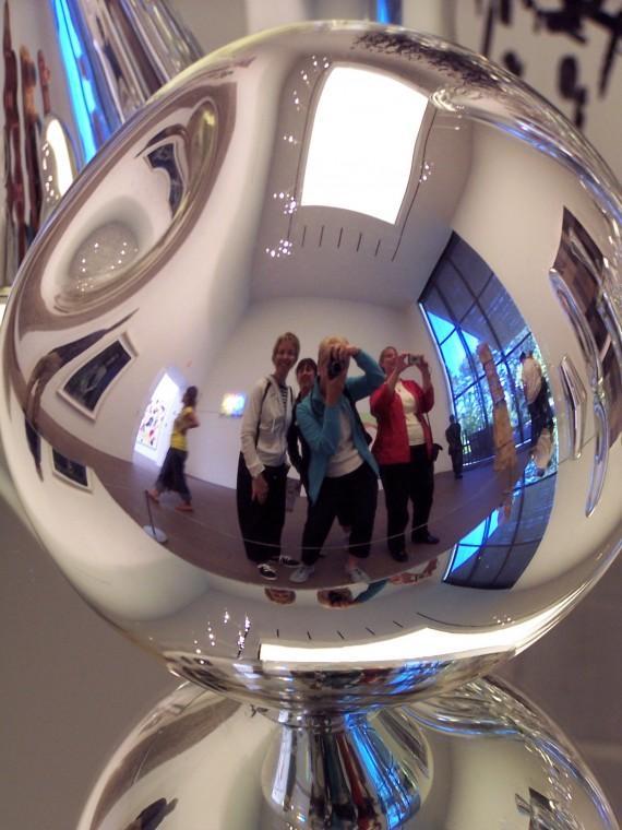 Girls in a bubble