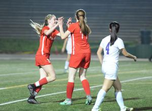 Girls soccer: Flames shut out Tigers, on to playoffs