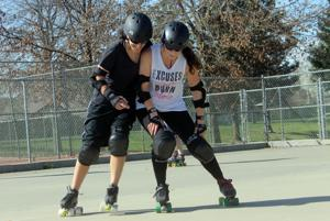 Four-wheeling sisterhood: Fun and fitness with Loco City Derby Girls