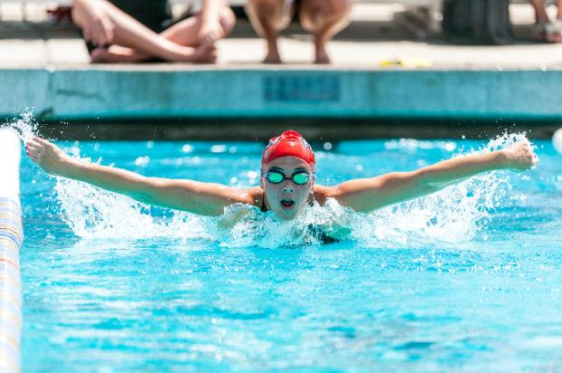 Sac-Joaquin Section swimming championships at Tokay High School