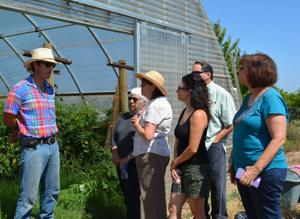 Farm to fork tour takes people on a journey through agriculture and culinary arts