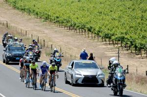 Tour of California: A ride through the vineyards