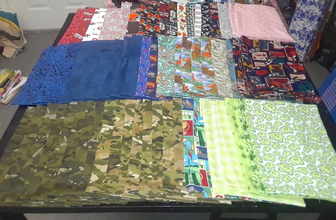 Ditty bags for veterans
