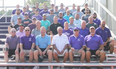 Former football captains return to LHS