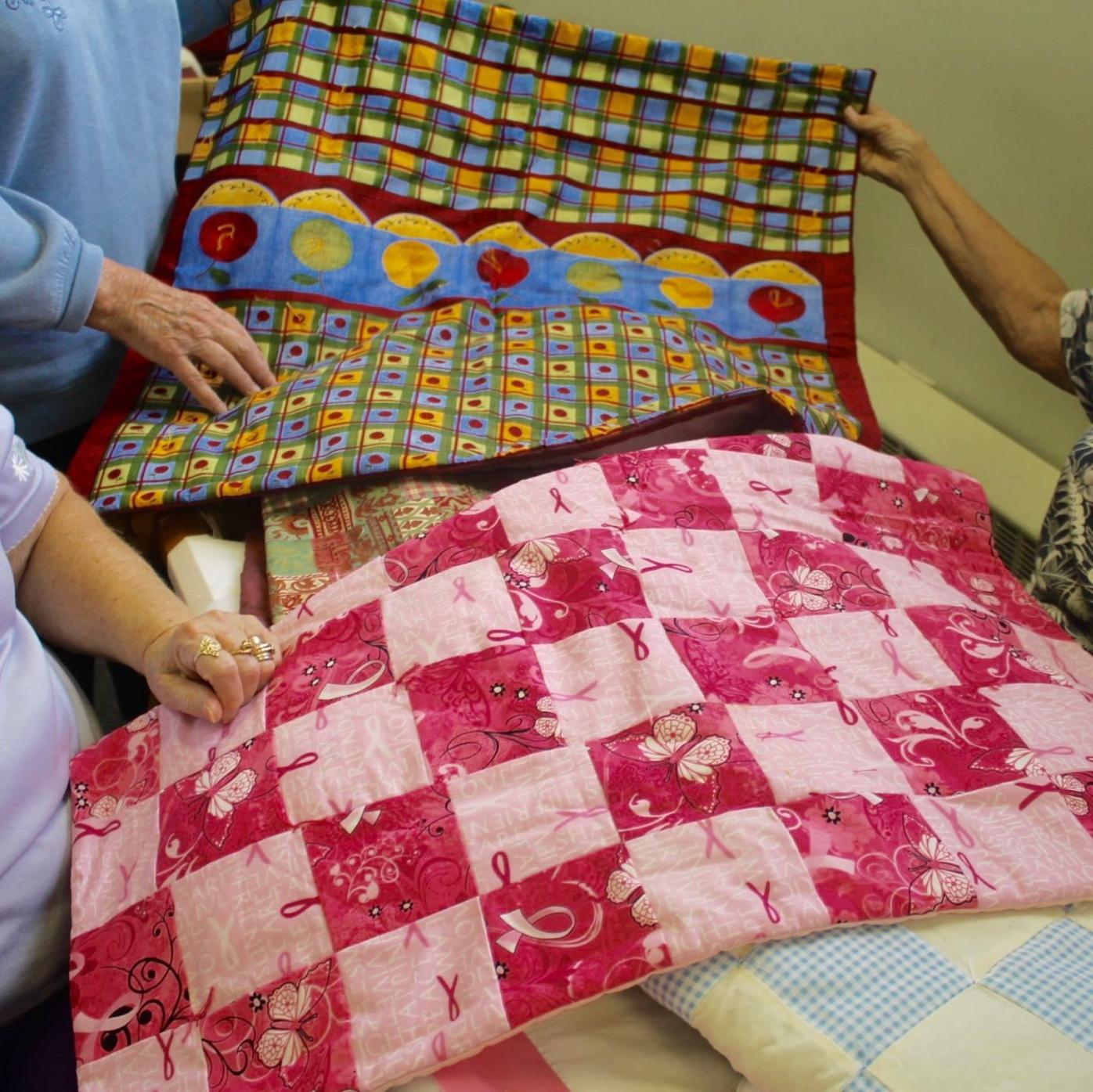 Donated quilts