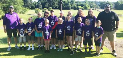 Youngsters attend Logan golf camp