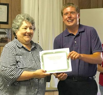 Patton receives scholarship