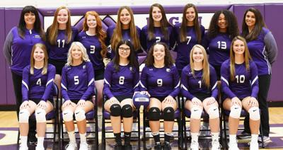 2019 Lady Chiefs varsity volleyball team