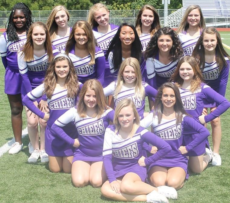 Logan middle school football cheerleaders | Sports ...