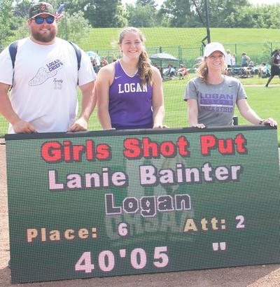 Bainter earns state medal