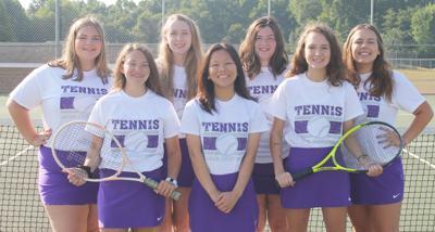 Lady Chiefs tennis letter-winners