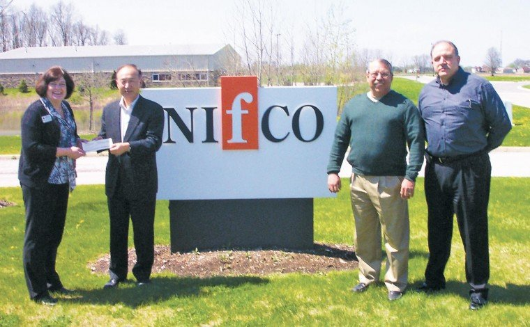the letter people nifco america corporation donates 13 100 to american 13100 | 4eb2d01726bcb.image