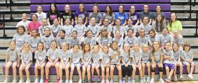Youngest Lady Chiefs volleyball campers