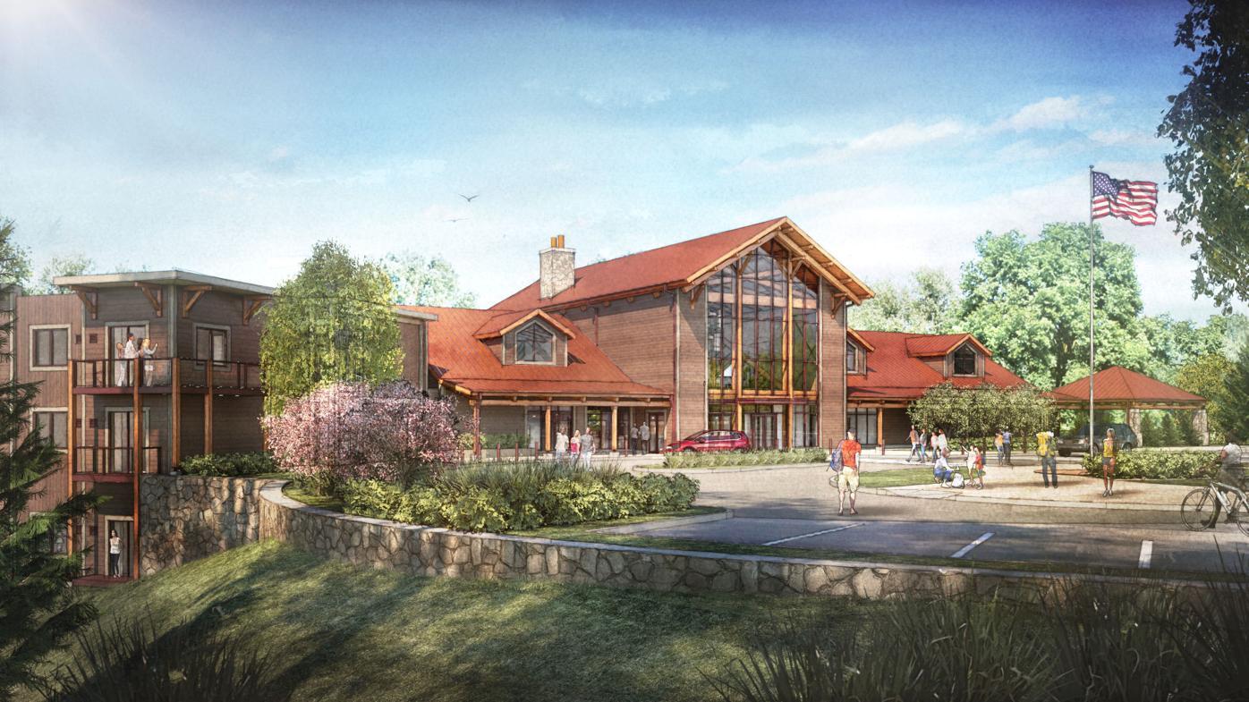 Hocking Hills Lodge rendering