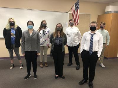 LHS mock trial team