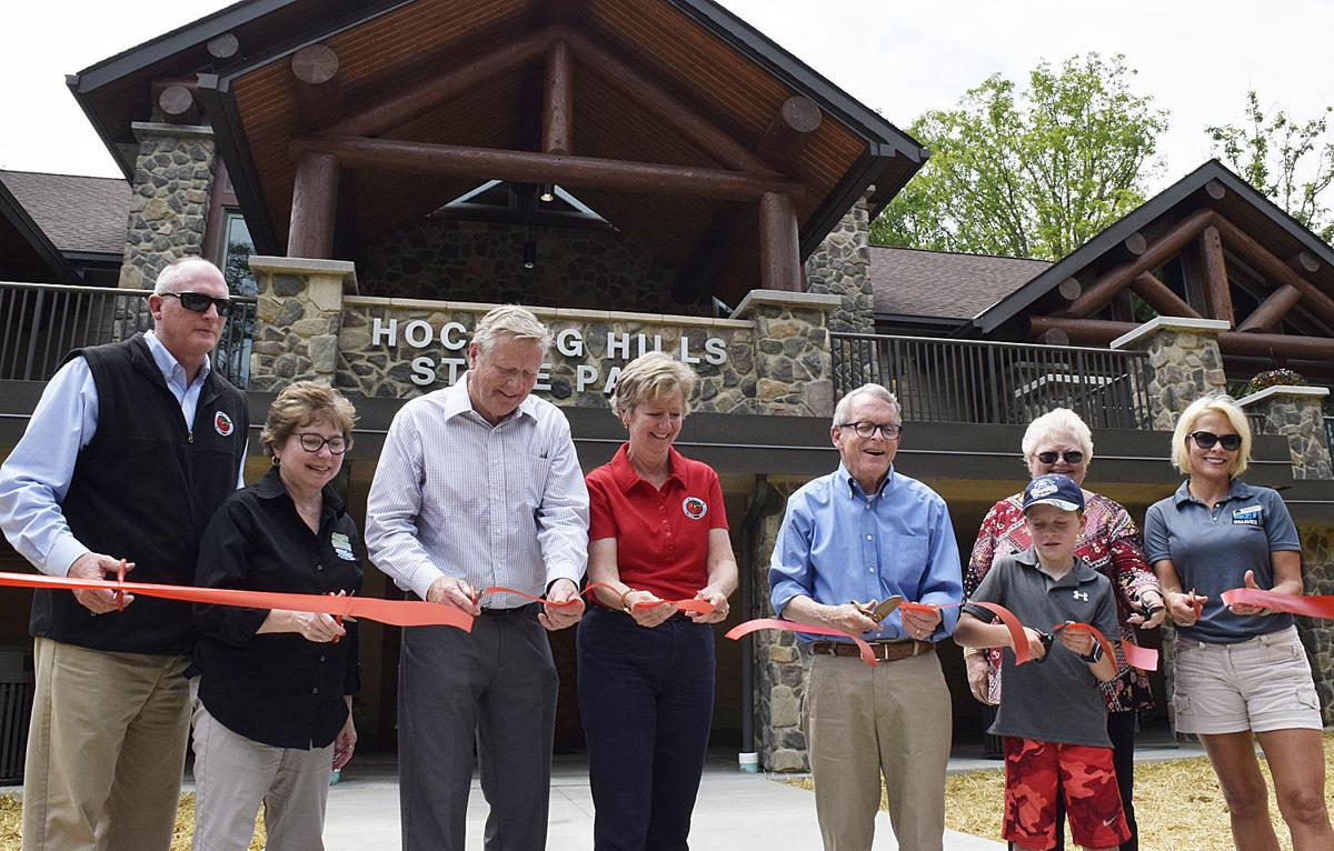 Visitors Center ribbon cutting