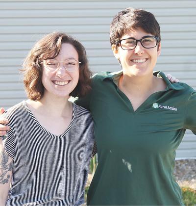 Emma Schultz and Shannon Stewart