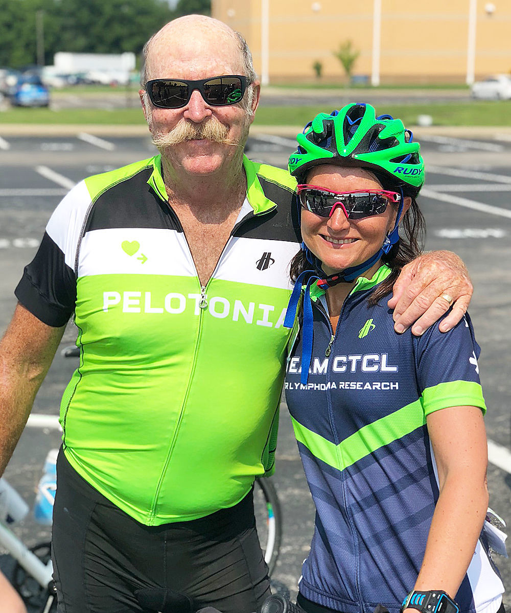 Shaw rides in Pelotonia