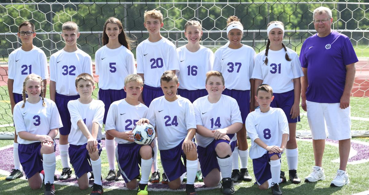 Logan seventh-grade soccer team