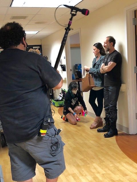 Filming at HVCH