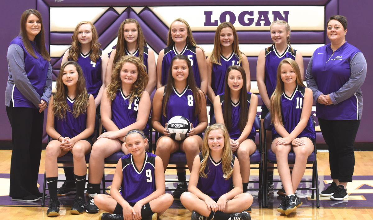 Logan seventh-grade volleyball team