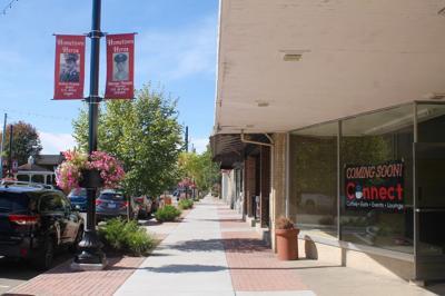 Downtown council visit