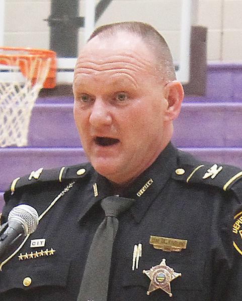 HCSO Chief Deputy Dave Valkinburg