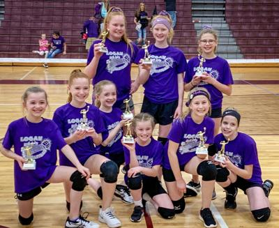 Fifth-grade volleyball champions