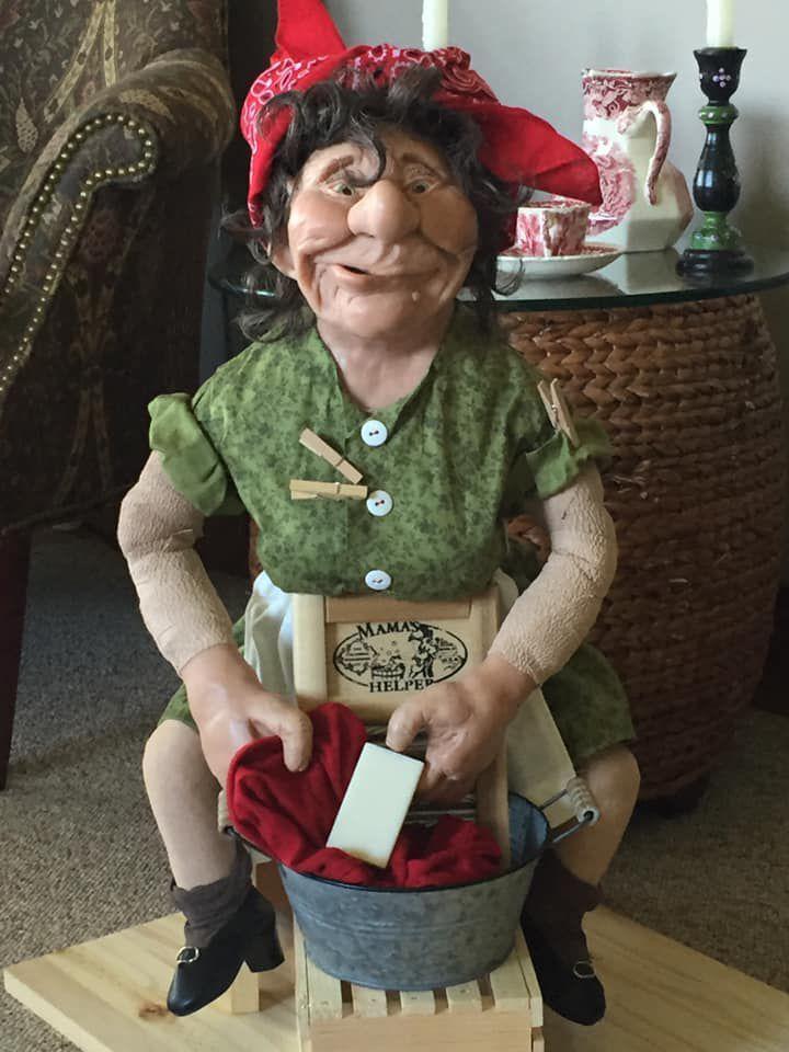 Wilma the washerwoman