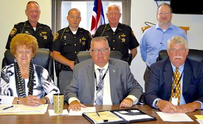 Commissioners sign lease on former Hocking Correctional