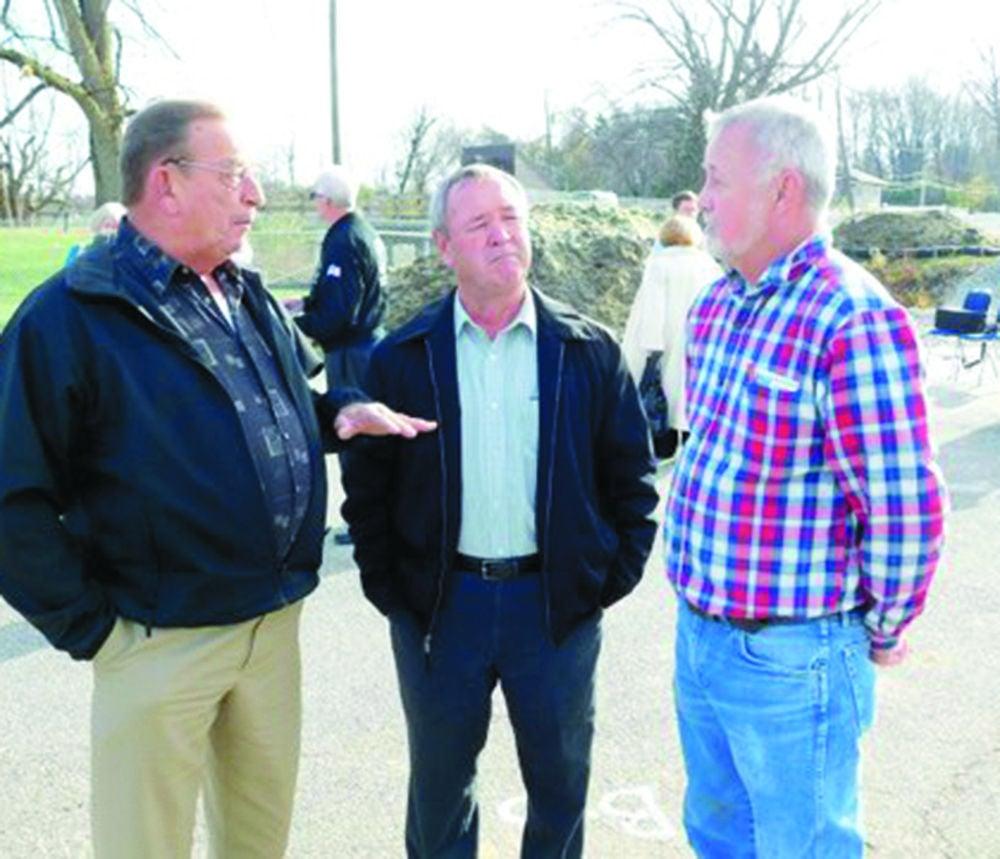 County commissioners at Buckeye Lake