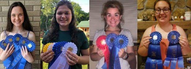 Senior Horse Team winners