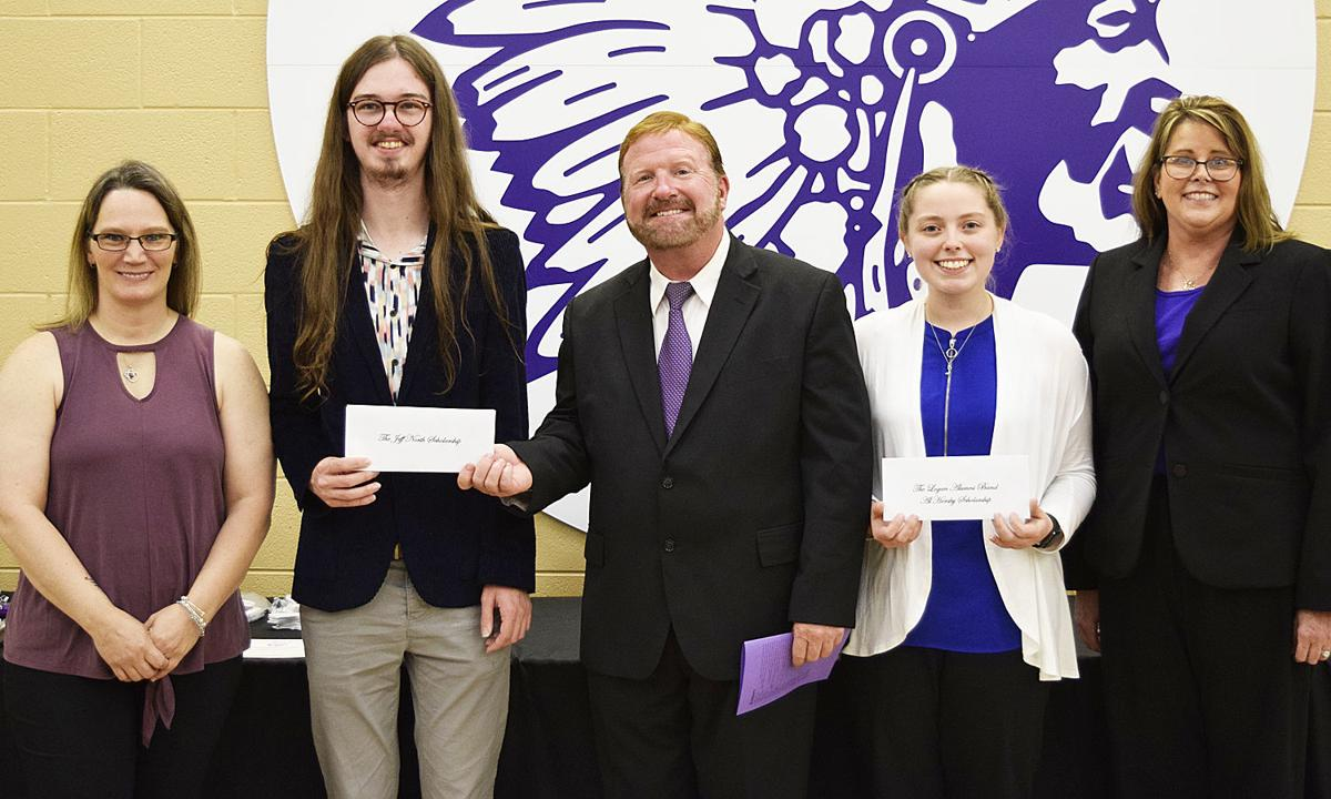 Band scholarship recipients