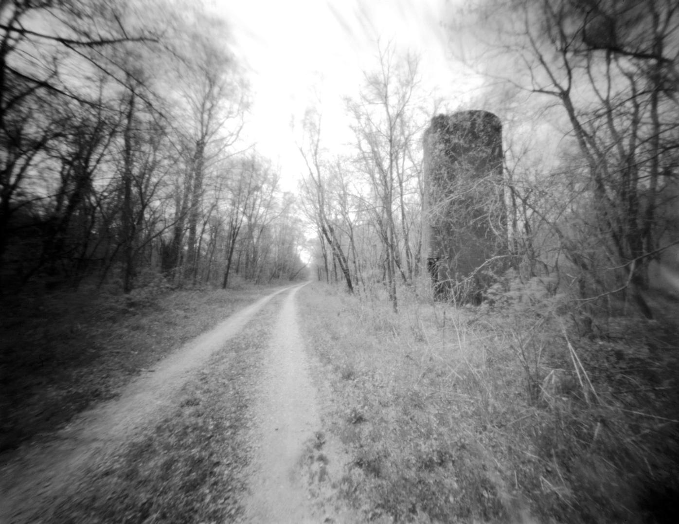 Abandoned silo