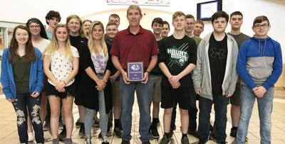 Silcott receives honor from LHS students