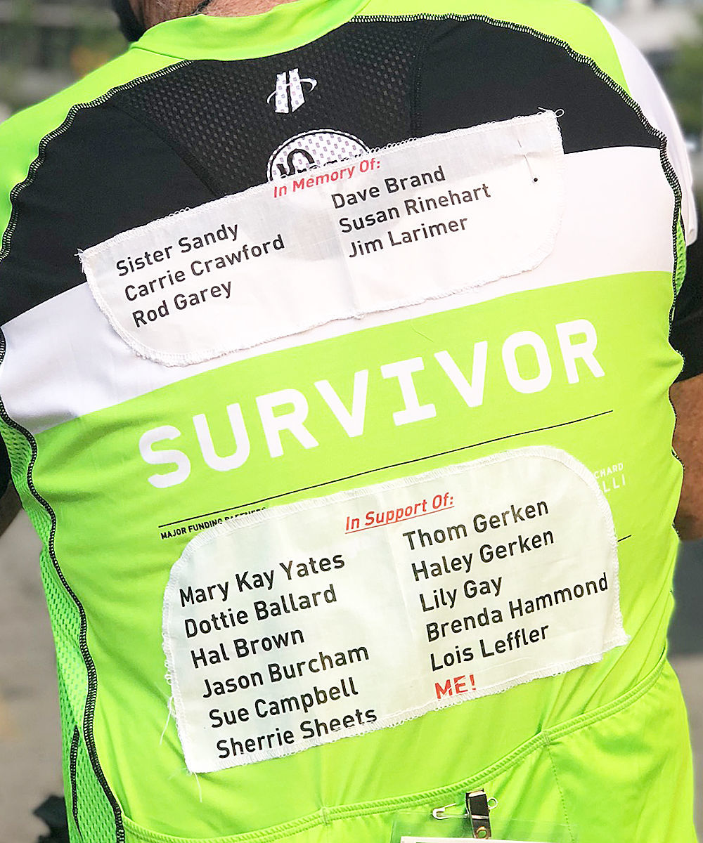 Riding for survivors and fighters