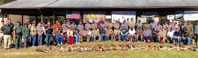 Archery hunt for veterans